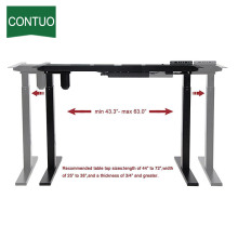 Factory best selling for Single Motor Standing Desk Motorized Adjustable Computer Desks For Standing And Sitting export to France Metropolitan Factory