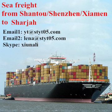 International Ocean Freight From Shantou To Sharjah