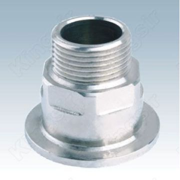Chrome Straight Pipe Fitting