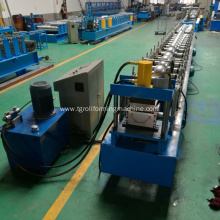 metal steel rainwater downpipe gutter forming machine