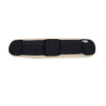 Sheepskin saddle girth cover for short girth