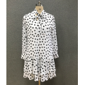 women's  polka dots dress