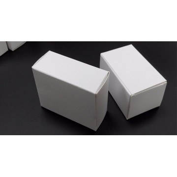 Free sample white blank packaging box