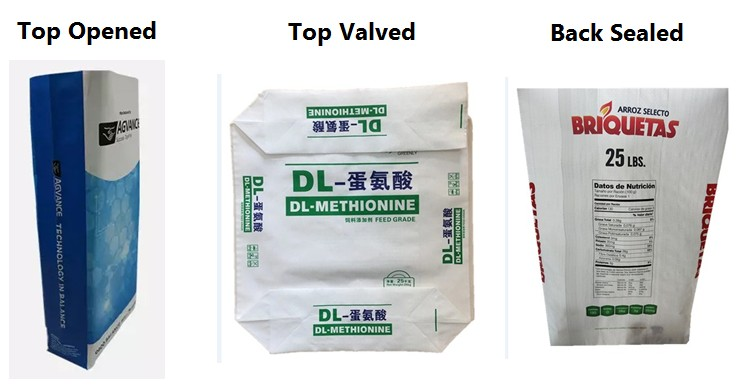 block bottom valve bags