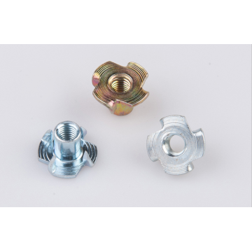Cold heading riveting Tee nuts
