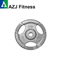 15KG  Tri-Grip Cast Iron Olympic​ Weight Plate