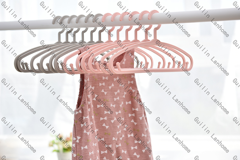 Multi Colorful Plastic Kids Clothes Hangers