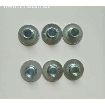 Tuercas para soldar Base redonda without hole nut