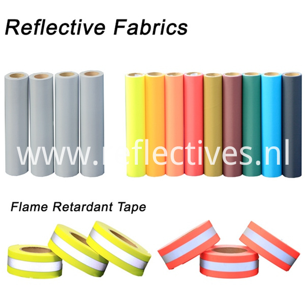 Hi-Vis Flame Retardant Fluorescent Yellow Tape