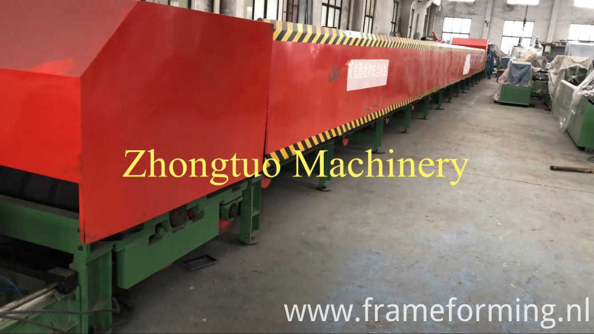 roofing and cladding sheet making machine
