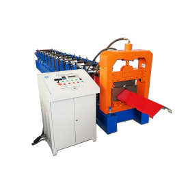 Metal Roof Ridge Cap Forming Machine