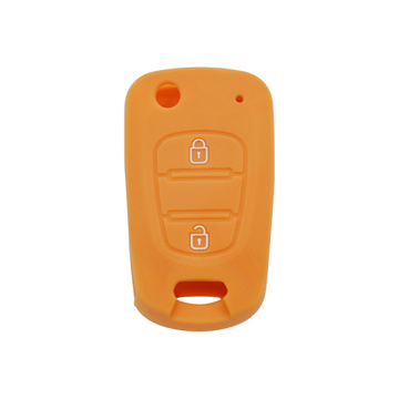 VERNA 2 buttons embossed silicone key cover