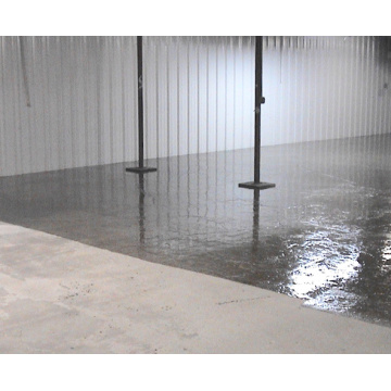 Workshop epoxy non slip coating