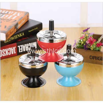 New Creative Fashion Home Stainless Steel Ashtray