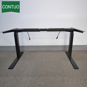 Cheap PriceList for Computer Standing Desk Best Sit To Stand Office Standing Computer Desk export to France Metropolitan Factory
