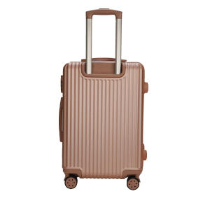 China New Product for Anti-collision Trolley  Luggage Golden Rose 360-degree swivel luggage trolley export to El Salvador Supplier