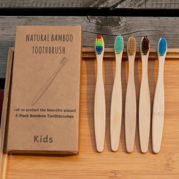 Eco friendly bamboo toothbrush kids