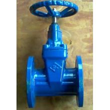 Inside Screw Nonrising Stem Soft Seal Gate Valve