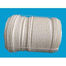 China Manufacturers for Polyester Rope,Braided Polyester Rope,Polyester Double Braided Rope Manufacturer in China 6mm-50mm PP/Polyester 8-Strand Twisted Rope export to Mozambique Exporter