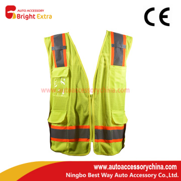 4 Pockets Safety Work Reflective Vest