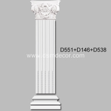 Good Quality for Pilaster Bottoms Large Corinthian PU Pilaster Capital export to Portugal Importers