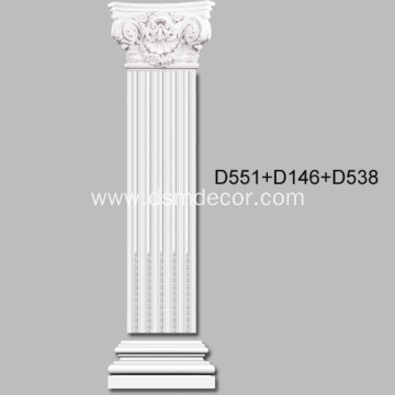 35cm Width Fluted Pilaster Molding