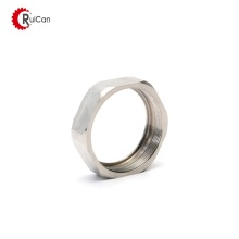 hydraulic hose fitting thumb round nut