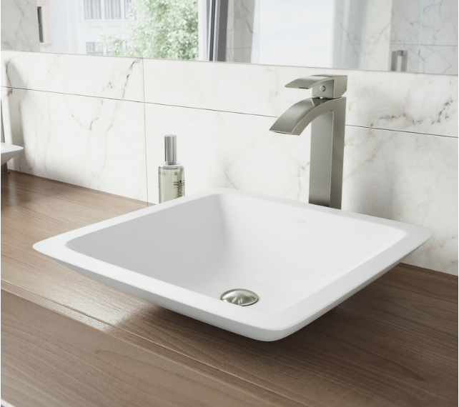 Countertop Basin With Faucit