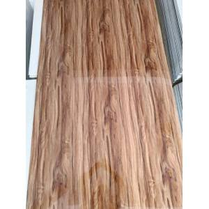 factory low price Used for PVC High Glossy Wooden Panel,Uv Coating PVC Wooden Panel From China PVC  artificial wooden sheet for interior decoration export to Botswana Supplier