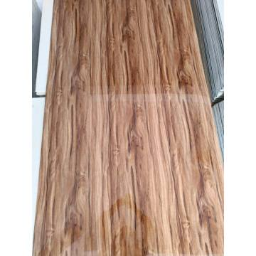 PVC  artificial wooden sheet for interior decoration