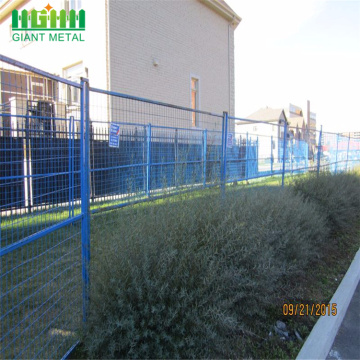Cheap CA standard Powder coated temporary fence