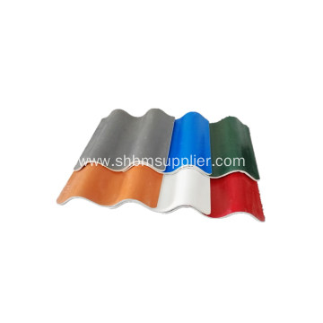Red Green High Strength Mgo Roofing Sheet