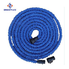Magic expandable water garden hose