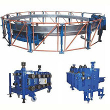 Steel spiral grain steel silo machine for sale