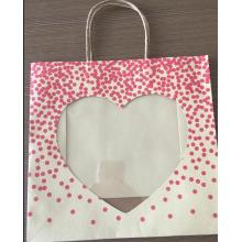 Custom Valentine Gift Kraft Paper Bag