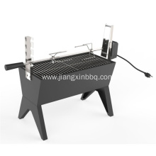 35 Inch Charcoal Spit Roaster for Outdoor