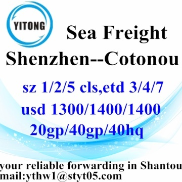 Shenzhen Logistics Services to Cotonou