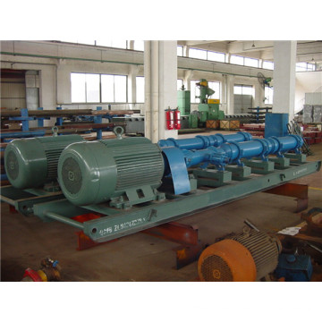 Single screw pump crude oil transfer pump
