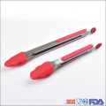 Silicone Kitchen Cooking Tools Food Tongs for BBQ Meat