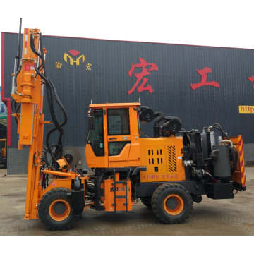Road Guardrail Drilling Machine