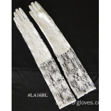 Fashion Lace Glove lång handled