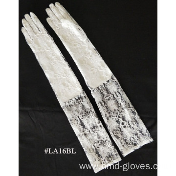 Fashion Lace Glove long wrist