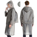 Adult Lightweight Hooded EVA Waterproof Raincoat