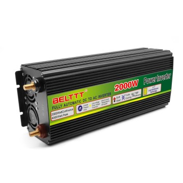 Metal-Build Black Color High Efficiency 2000W Inverter