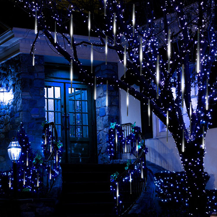 christmas outdoor led icicle lights