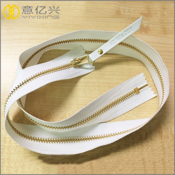 custom fashion promotional metal zipper for garments