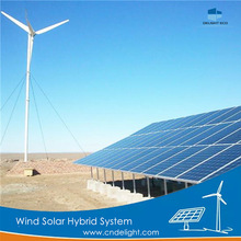 DELIGHT 1kw Wind Solar Home Lighting Hybrid System