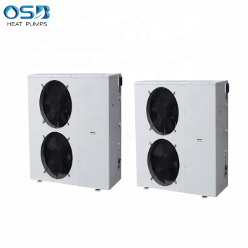 Commercial high COP air source heating cooling hot water multifunction hotel heat pump