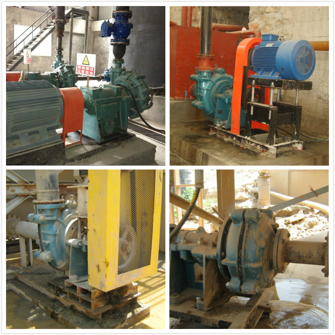 High Abrasive Slurry Pumps