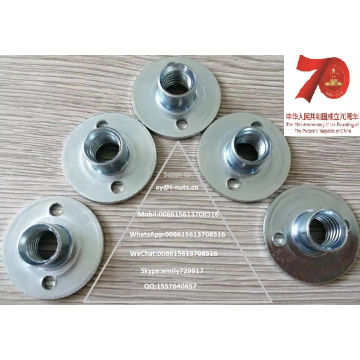 Zinc Plated Carbon Steel Furniture Weld Nuts
